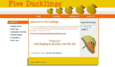 Five Ducklings