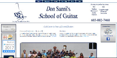 Don Sanni School of Guitar