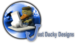 Just Ducky Designs - Custom Website Design and Hosting Logo