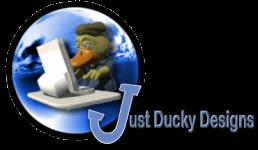 Just Ducky Designs - Custom Website Design and Hosting Logo